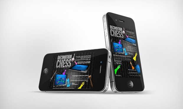 HTML5 iPad App Site